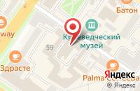 Схема проезда до компании Экоцентр-П в Подольске