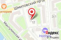 Схема проезда до компании Адиком в Москве