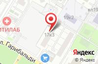 Схема проезда до компании ЕленаМарт в Москве