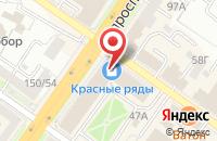 Схема проезда до компании Амтел в Подольске