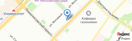 Банкомат Райффайзенбанк на карте Москвы
