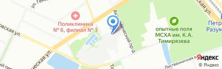 Вест-Альфа на карте Москвы