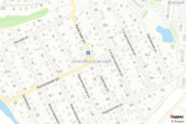 Ремонт телевизоров Новомосковский административный округ на яндекс карте