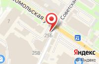 Схема проезда до компании Золотая Корона в Подольске