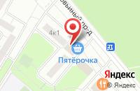 Схема проезда до компании Полиграфоборудование в Москве