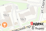 Схема проезда до компании Актер в Москве