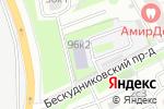 Схема проезда до компании Svita в Москве