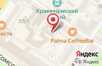 Схема проезда до компании OS Comp в Подольске