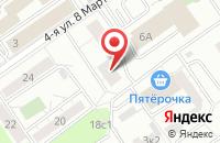 Схема проезда до компании Рубикон в Москве