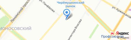 Школа на карте Москвы
