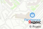 Схема проезда до компании Линз-Оптика в Москве