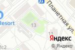 Схема проезда до компании Vitrajmaterial.ru в Москве