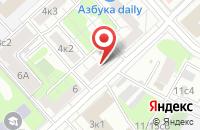 Схема проезда до компании Центральянс в Москве