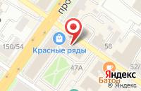 Схема проезда до компании Ампир в Подольске