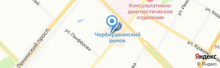 Margaret W на карте Москвы