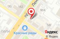 Схема проезда до компании ЮниКредит Банк в Подольске