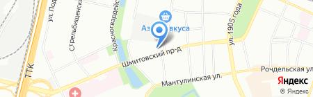 Шашков и партнеры на карте Москвы