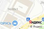 Схема проезда до компании Антей Графика в Москве