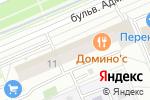 Схема проезда до компании Источник в Москве