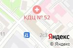 Схема проезда до компании АВИАИСТОК в Москве