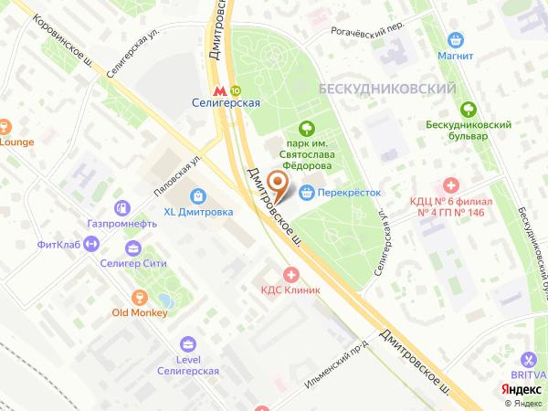 Остановка «Парк Святослава Федорова», Дмитровское шоссе (1008807) (Москва)