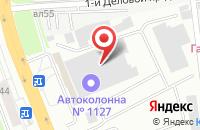 Схема проезда до компании Vikon Style в Подольске