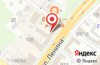 Схема проезда до компании Город в Подольске