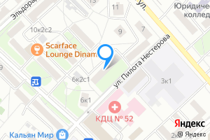 Сдается двухкомнатная квартира в Москве Красноармейская ул., 6к2