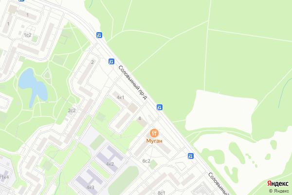 Ремонт телевизоров Соловьиный проезд на яндекс карте