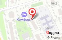Схема проезда до компании Триколор в Москве
