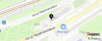 ЛИС на карте Москвы