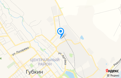 Местоположение на карте пункта техосмотра по адресу Белгородская обл, г Губкин, ул Горноспасателей, д 5