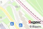 Схема проезда до компании Здоровый офис в Москве