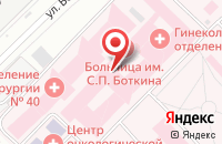 Схема проезда до компании Смартстрой в Москве