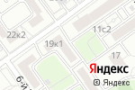 Схема проезда до компании ПМ Сервис в Москве