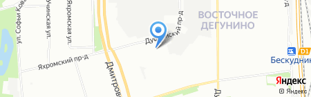 Тиберия на карте Москвы