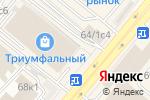 Схема проезда до компании Много Мебели в Москве