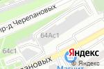 Схема проезда до компании Перила 495 в Москве