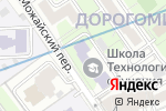 Схема проезда до компании Багратион Рекордс в Москве