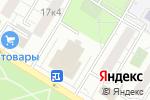 Схема проезда до компании Оркестрион в Москве