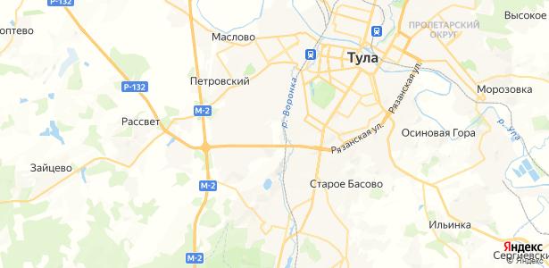 Нижняя Китаевка на карте