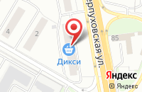 Схема проезда до компании Двери в Подольске