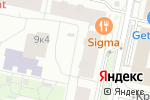 Схема проезда до компании RedSide в Москве