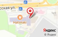 Схема проезда до компании Рассвет в Подольске