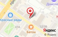 Схема проезда до компании СТО 500 в Подольске