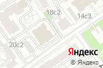 Схема проезда до компании Национальный контроль в Москве
