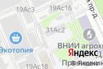 Схема проезда до компании Jennie Rose в Москве