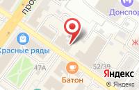 Схема проезда до компании Подольская коллегия адвокатов в Подольске