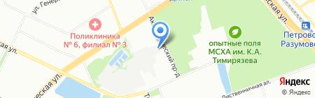 АвтоСтар на карте Москвы