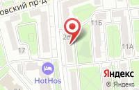Схема проезда до компании Эверест в Москве